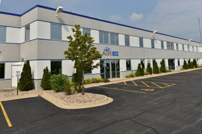 AIR802 Corporate Office Building in Aurora, Illinois