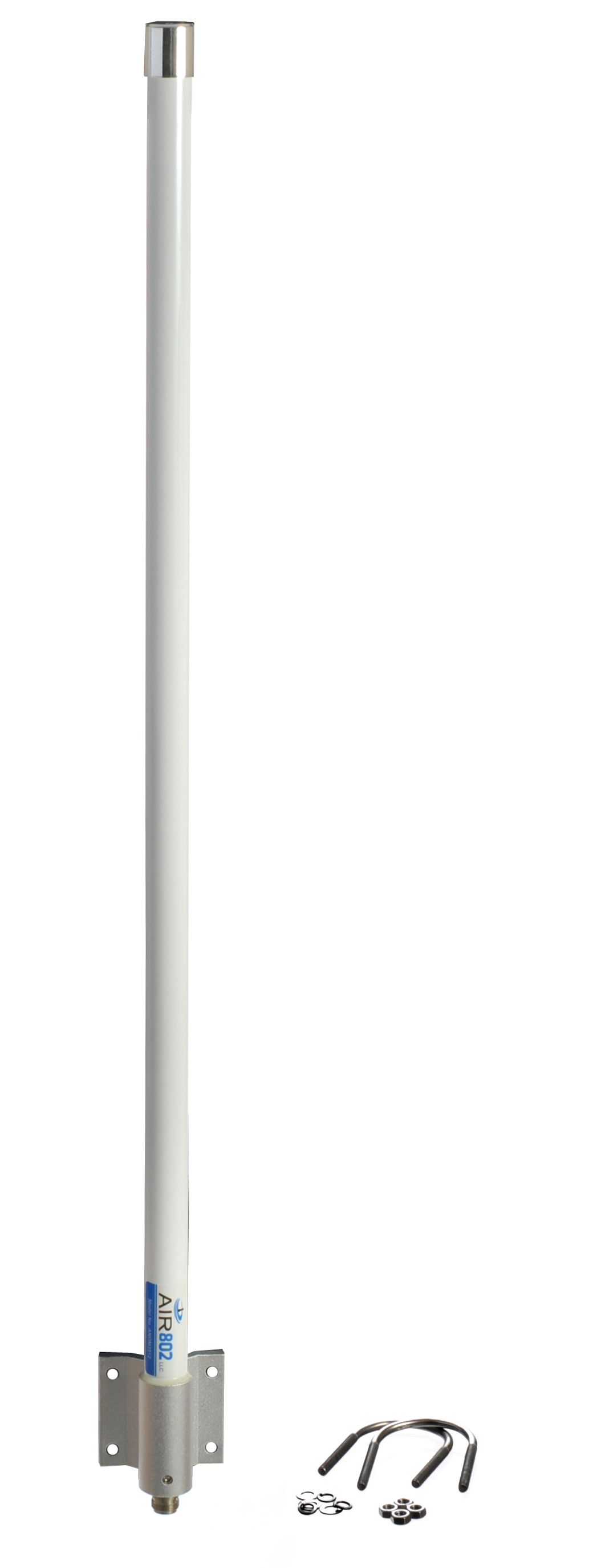 ANOM245X98 Dual-Band Outdoor Mast Mount WiFi Antenna with 2.4 and 5.1 to 5.8 GHz