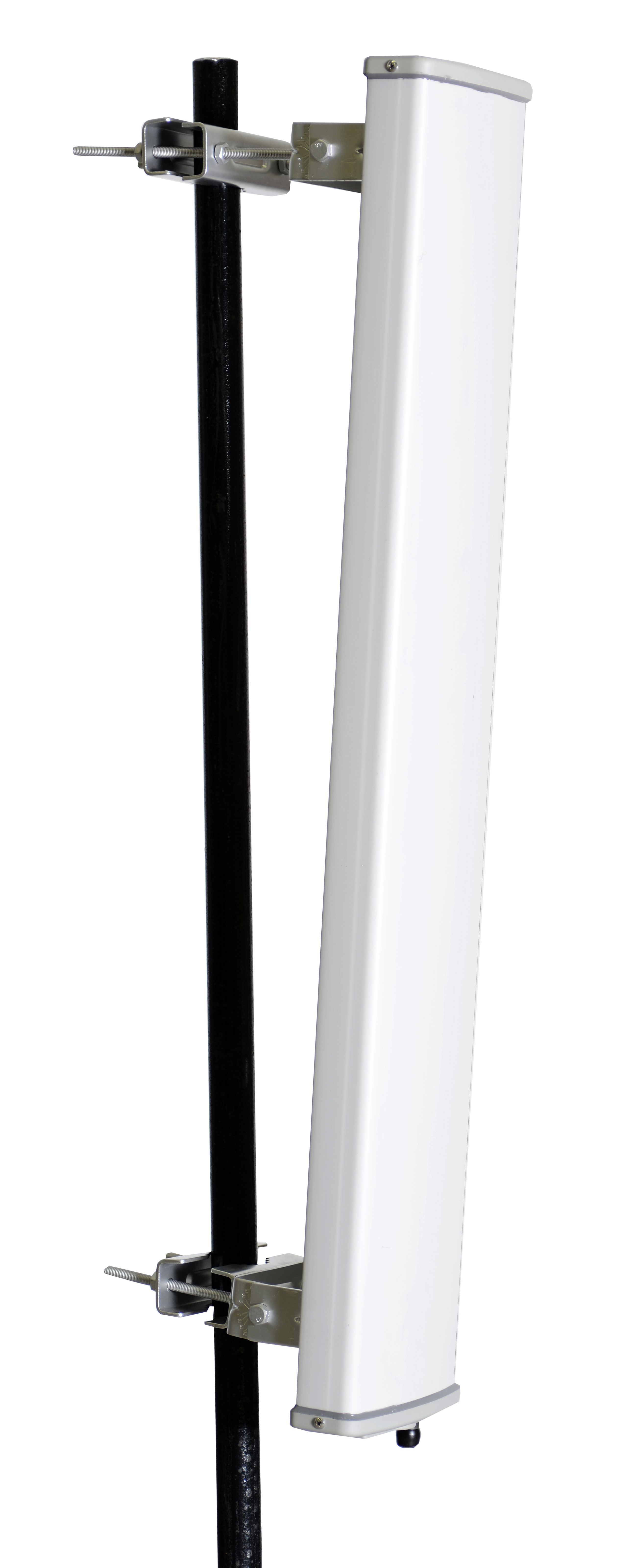 ANSE245X1N-65 Dual-Band 2.4 and 5.1 to 5.8 GHz Sector WiFi Antenna with 1 N Female Connectors and 65 Degree Horizontal Beawidth
