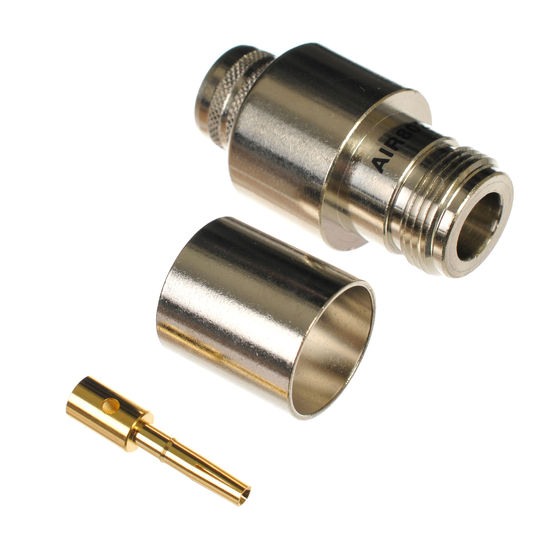 N Jack Or Female Crimp Connector For Air802 Ca600 Times Microwave Lmr600 Coaxial Cables
