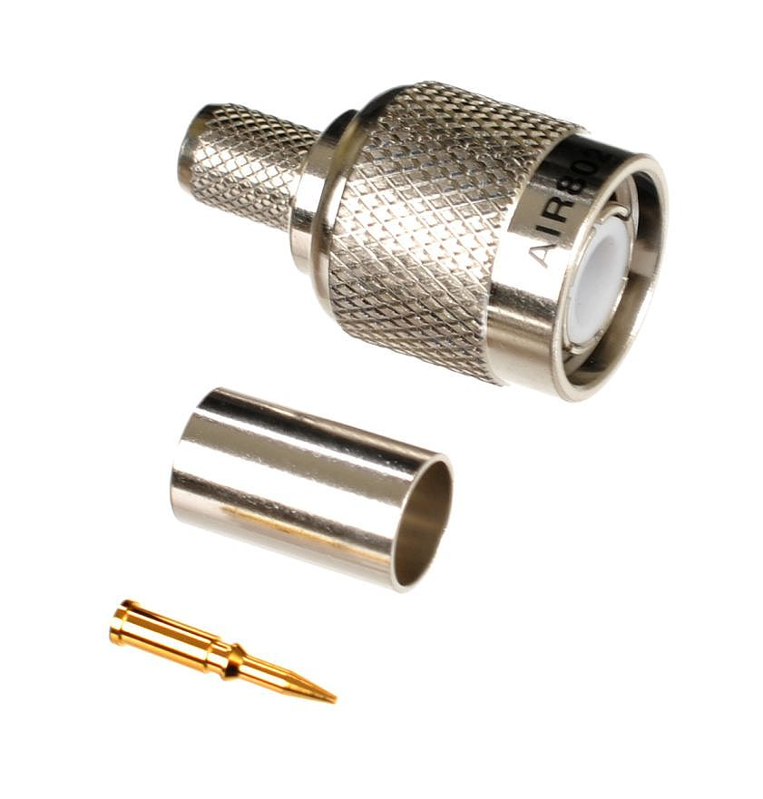 Tnc Plug Or Male Crimp Connector For Air802 Ca240 Times Microwave Lmr240 Rg8x Belden 9258 And Equivalent Size Cables