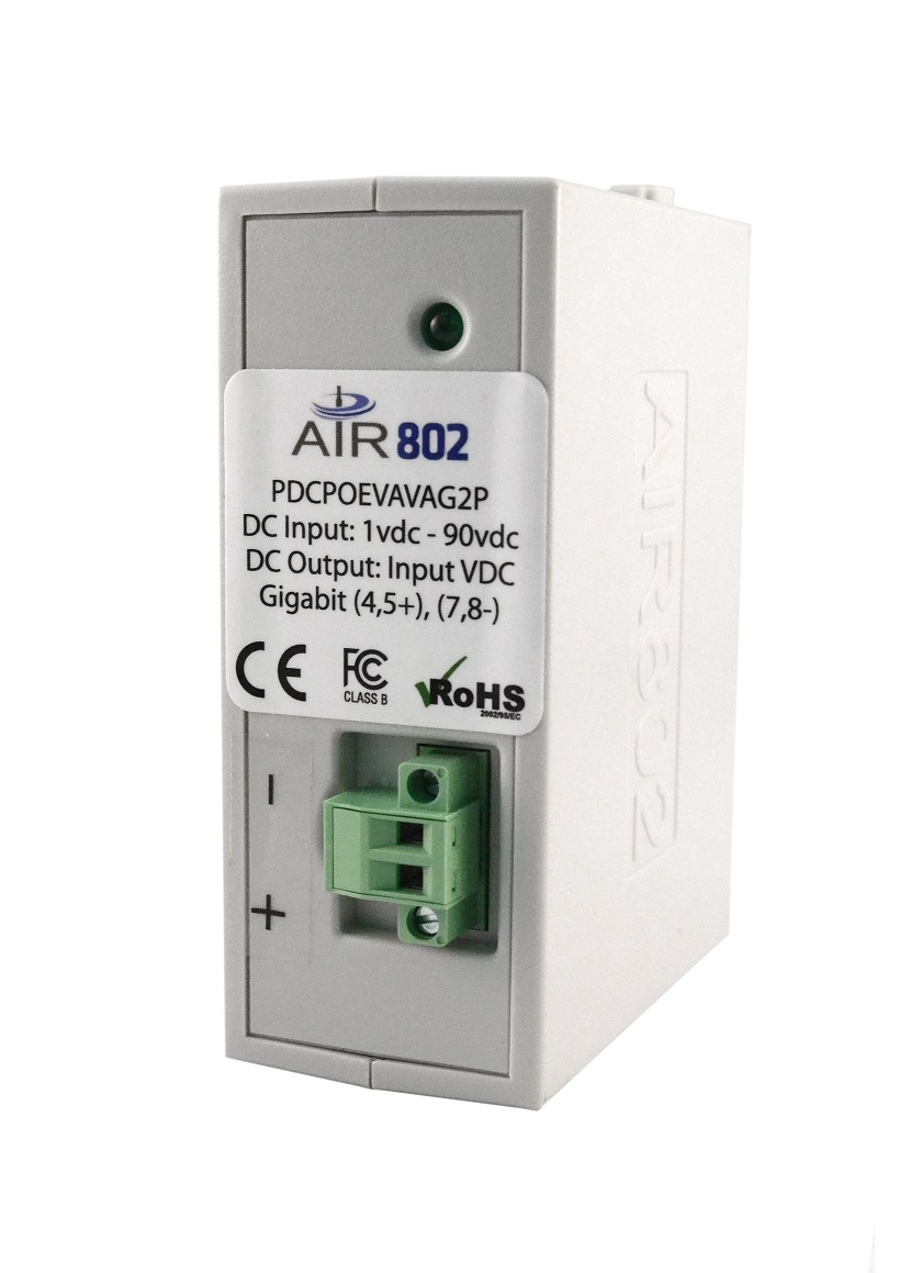 Power over Ethernet| Gigabit PoE Direct DC 2 Pair Adapter